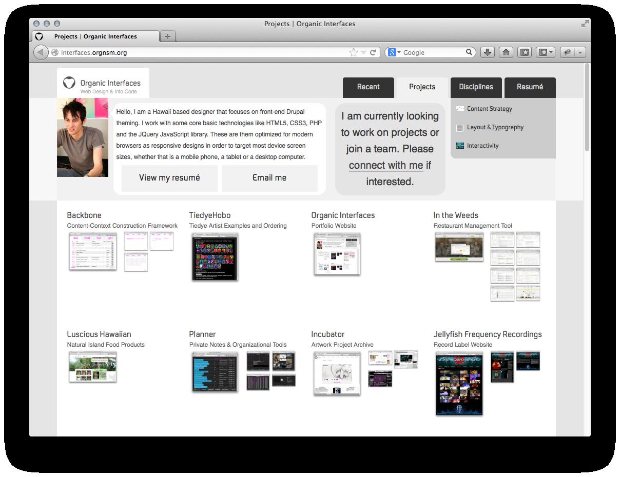 folio site snapshot
